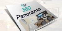 360 panorama icon